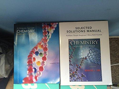 Chemistry A Molecular Approach 2nd Custom Edition for General Chemistry 1102 Volume 2 California ...