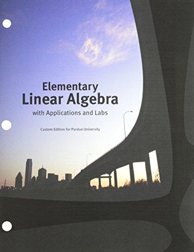 Elementary Linear Algebra Kolman Solutions Manual Pdf