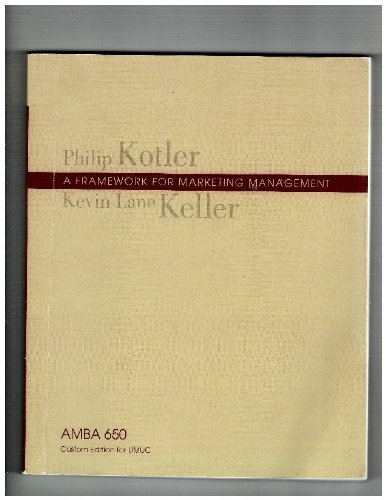 Framework for Marketing Management: Philip Kotler and