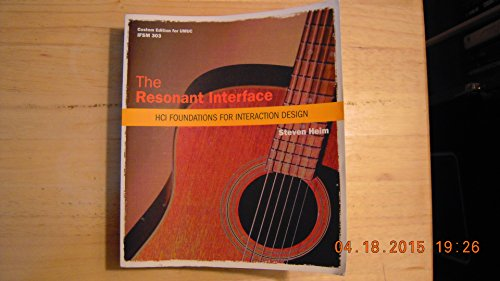9780558700089: The Resonant Interface: HCI Foundations For Interaction Design