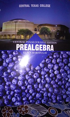 9780558704636: Central Texas College Pre Algebra (Central Texas College PreAlgebra)