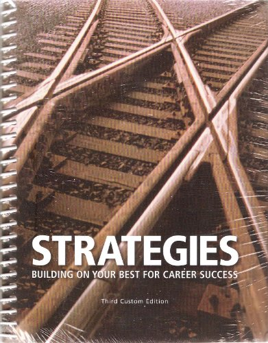 9780558707248: Strategies Building on Your Best for Career Success Third Custom Edition