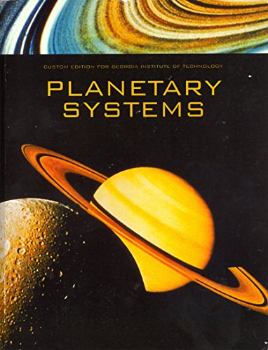 9780558711269: Planetary Systems Custom Edition for Georgia Institute of Technology