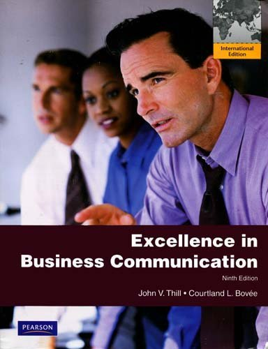 9780558713485: Excellence in Business Communication