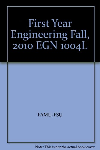 First Year Enfineering Fall, 2010, Egn 1004l,: Holly Stark