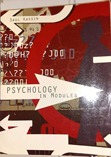 9780558728076: Psychology in Modules