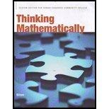 9780558741259: THINKING MATHEMSTICALLY >CUSTO