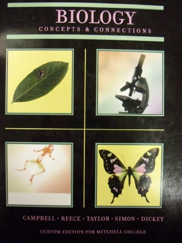 9780558748579: Biology; Concepts & Connections (Custom Edition for Mitchell College)
