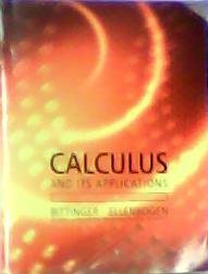 9780558752781: Calculus And It's Applications (Custom Edition for Mississippi State University)