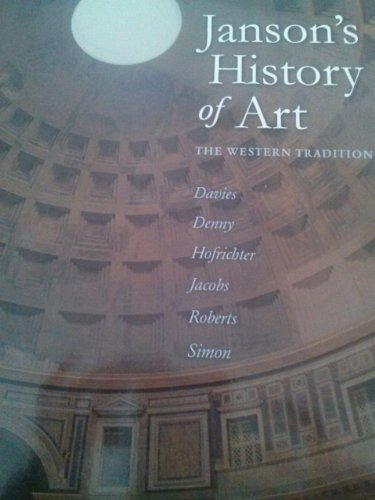 9780558763213: Janson's History of Art The Western Tradition Second 2nd Custom Edition for Glendale College
