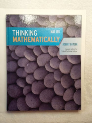 Thinking Mathematically MAT 155: Blitzer
