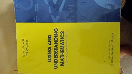 Using and Understanding Mathematics: A Quantitative Reasoning: Jeffrey Bennett