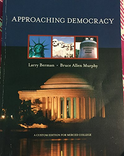 9780558771089: Approaching Democracy Seventh Edition