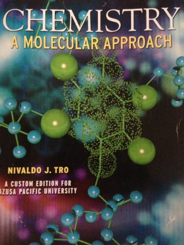 9780558779757: Chemistry A Molecular Approach (A Custom Edition for Azusa Pacific University)