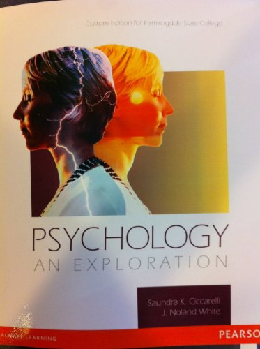 9780558782986: Psychology an Exploration (Custom Edition for Farmingdale State College)