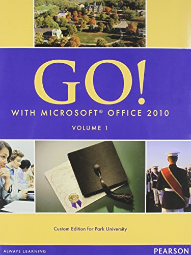 9780558783679: Go! with MS Office 2010, Volume 1 [With CDROM]