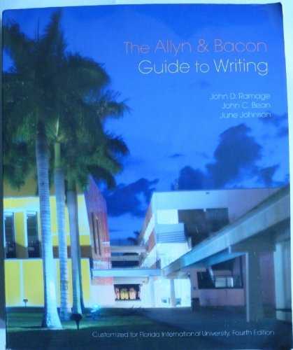 9780558790325: Allyn and Bacon Guide to Writing (Custom edition for Florida International University)