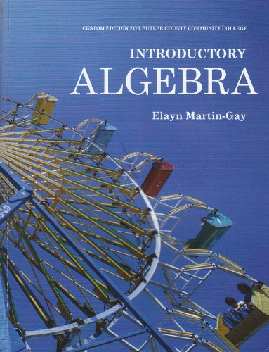 9780558790691: Introductory Algebra (Custom for BUTLER-CCC)