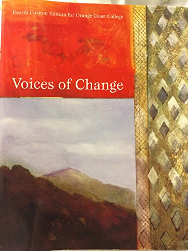 9780558799922: Voices of Change Fourth Custom Edition for Orange Coast College