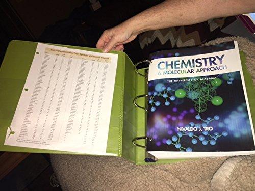 9780558803957: Chemistry a Molecular Approach
