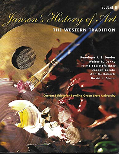 Janson's History of Art: The Western Tradition,: Davies/Denny/Hofrichter/Jacobs/Roberts/Simon