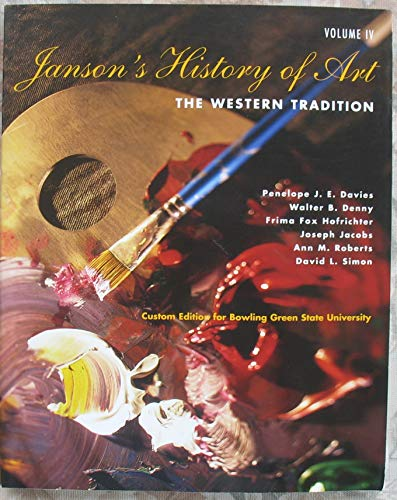 Janson's History of Art: The Western Tradition,: n/a