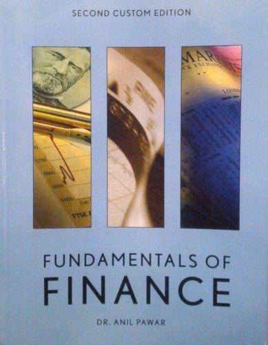 9780558807214: Fundamentals of Finance 2nd Custom Edition