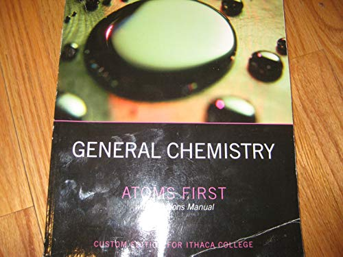 9780558808266: General Chemistry Atoms First -Custom Edition for Ithaca College