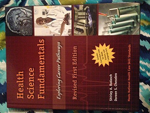 9780558823863: HEALTH 2001 NATIONAL HEALTH SCIENCE FUNDAMENTALS EXPLORING CAREERS STUDENT EDITION