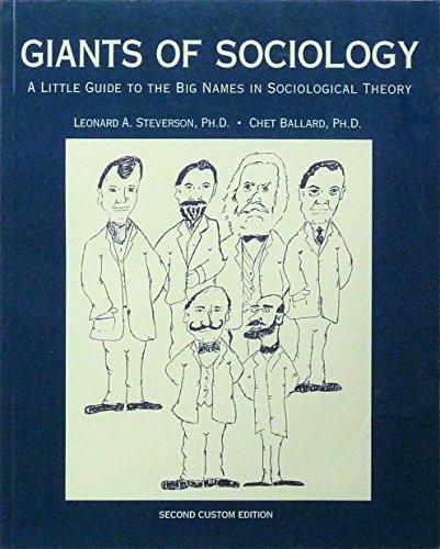 9780558825249: Giants of Sociology