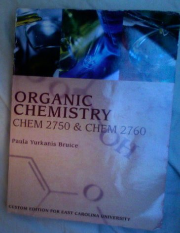 9780558834227: Organic Chemistry CHEM 2750 & CHEM 2760 (ECU Custom Textbooks)