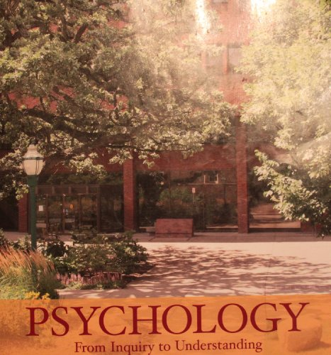 9780558837969: Psychology: From Inquiry to Understanding (Custom Edition for the University of Minnesota)
