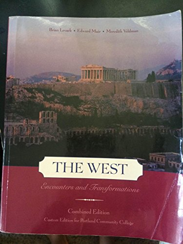 9780558844349: The West, Encounters and Transformations