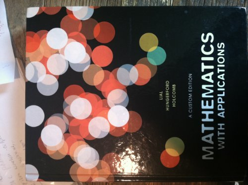9780558847951: Mathematics with Applications