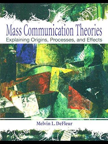 9780558848781: Mass Communication Theories