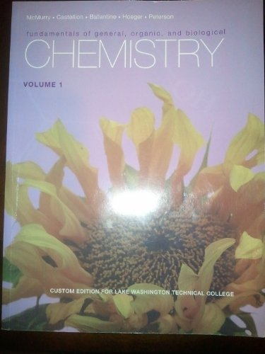 9780558866815: Fundamentals of General, Organic, and Biological Chemistry