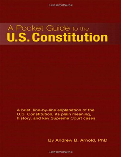 9780558874445: A Pocket Guide to the U.S. Constitution