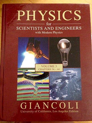 9780558876562: Physics for Scientists and Engineers with Modern Physics (Volume 3 Chapters 36-44, UCLA Edition volume 3)