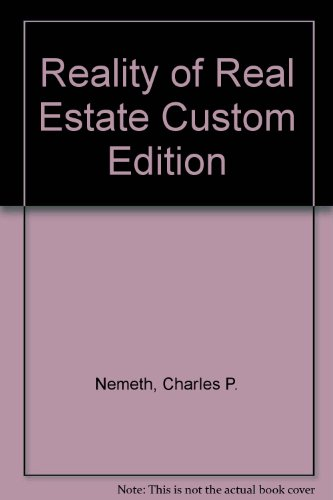 9780558877323: Reality of Real Estate Custom Edition