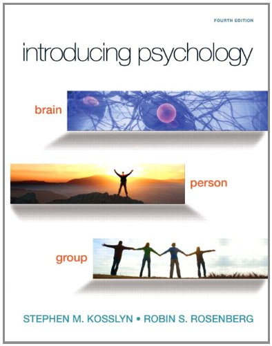 9780558882846: Introducing Psychology: Brain, Person, Group (4th Edition) (Mypsychlab)