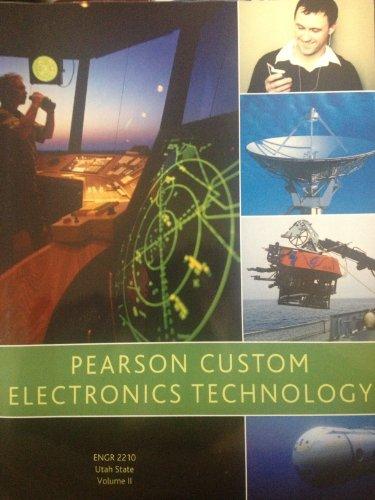 9780558888916: Pearson Custom Electronics Technology