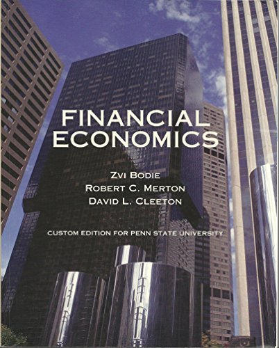 9780558921866: Financial Economics (Custom Edition for Penn State University)