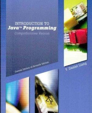 Introduction To Java Programming Comprehensive Version: Y.Daniel Liang