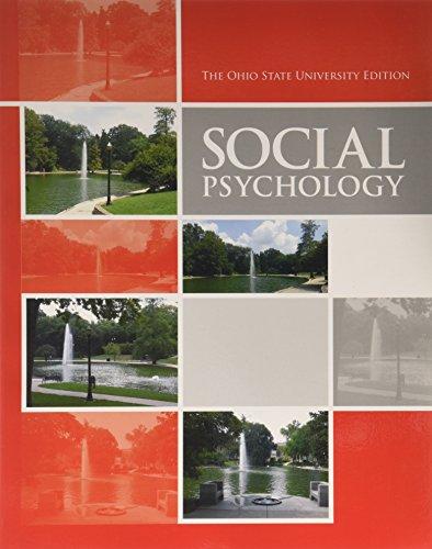 9780558929213: SOCIAL PSYCHOLOGY (CUSTOM S11)