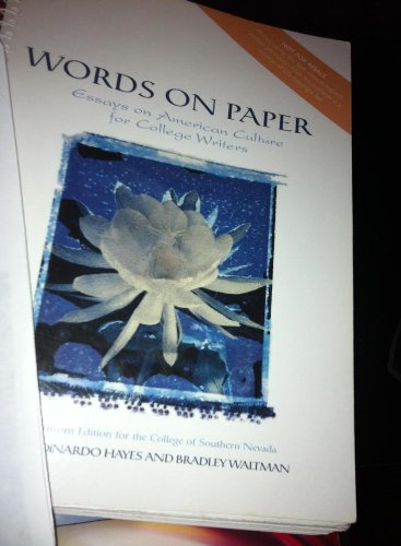 Words on Paper -Essays on American Culture: Waltman, Levia DiNardo