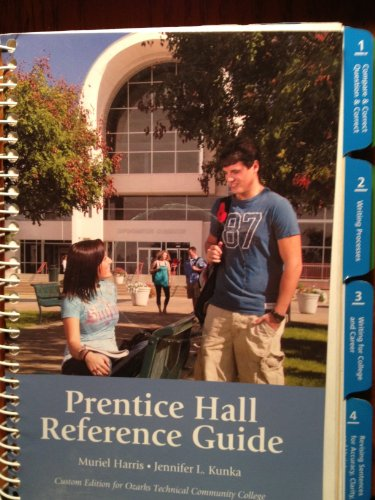 9780558940324: Prentice Hall Reference Guide Custom Edition for Ozarks Technical Community College