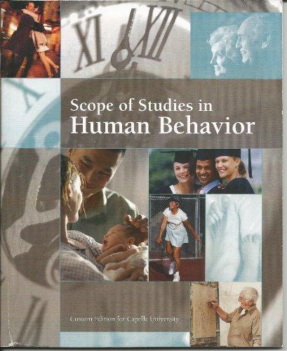 9780558941758: Scope of Studies in Human Behavior (Custom Editions for Capella University)