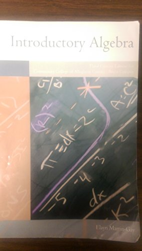 9780558948085: Introductory Algebra, 3rd Custom Edition for Community College of Allegheny County - Boyce Campus