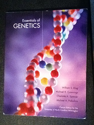 9780558962975: Essentials of Genetics