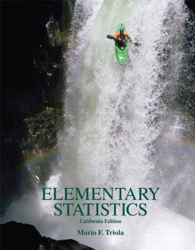 9780558983055: Elementary Statistics, California Edition w/ CD
